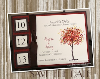 Branch Out Fall/Autumn Wedding Save the Date