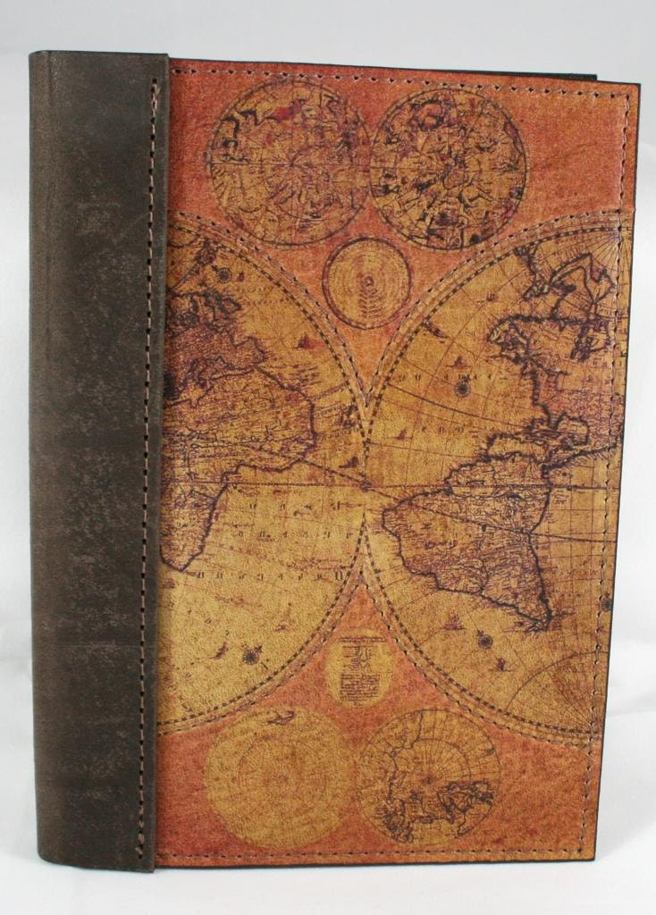 Leather Travel Journal Notebook Diary Logbook With A