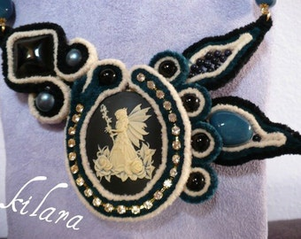 Fairy Necklace Velvet/Velvet Fairy Necklace