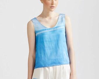 Blue Skies Silk Cami
