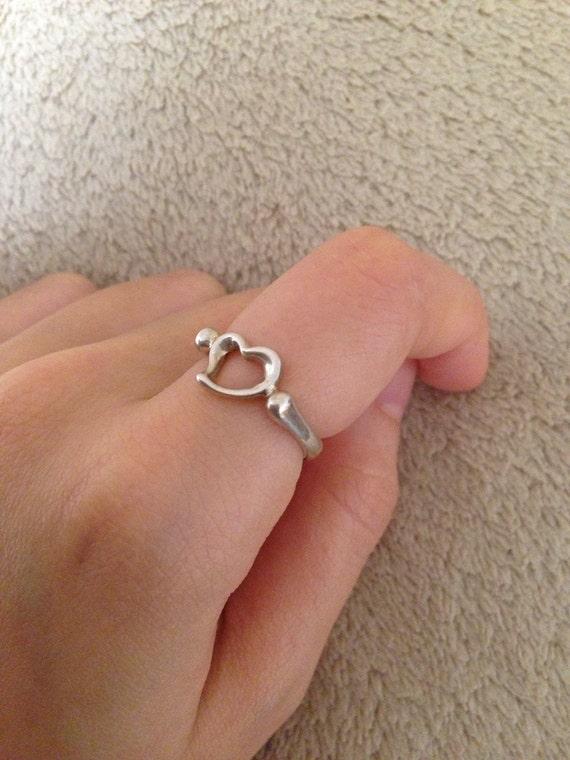 Tiffany Open Heart Ring Price