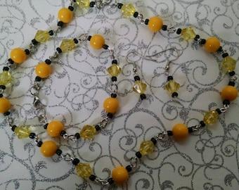 Yellow black set