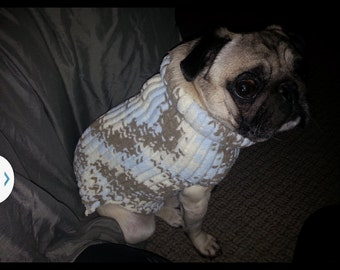 Boxer Dog Coat Knitting Pattern : Items similar to pdf vintage knitting pattern his and hers ...
