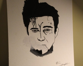 Fight club painting