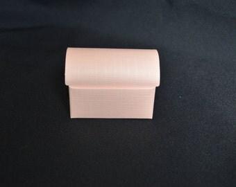 Pink Trunk Paper Favor Boxes- Set of 12