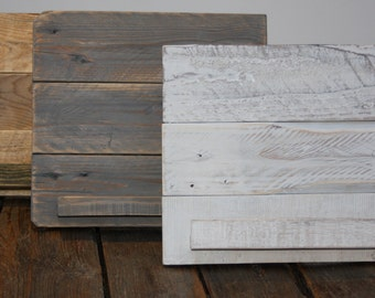 Distressed Pallet wood Ipad/recipe book stand