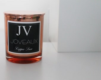 Copper Luxe Soy Candle Collection