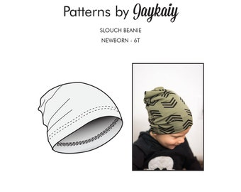 Baby Slouch Beanie Pattern