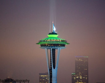 Seattle Space Needle at Kerry Park, Seattle WA