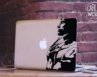 Macbook decal/ Creative Vinyl sticker/ Wolverine