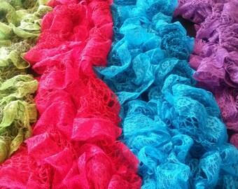 Chantilly Frill Scarves