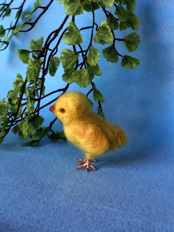 Waldorf Needle-Felted Spring Chick