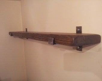 "1 x 8"" Deep  rustic  shelf.   various sizes available"