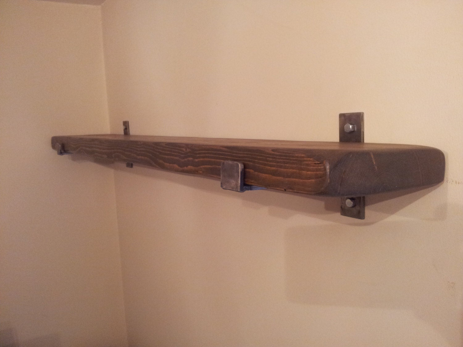 1 x 8 deep rustic shelf various sizes available. Black Bedroom Furniture Sets. Home Design Ideas