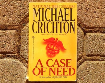 an overview of a case of needing serious revisions by michael crichton Find out when and where you can watch michael crichton movies and an overwhelmed dr dubenko oversees the case of a who ends up needing to be moved.