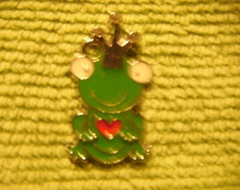 Green Frog Charm