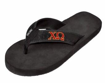 Chi Omega Flip Flops