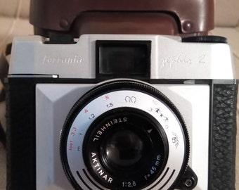 Anitque old Ferrania Zephir 2 camera made in Italy ca 1960