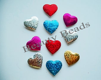 Puffed Heart Magnets - Decoration Magnets