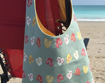 Large But Simple Beach Tote