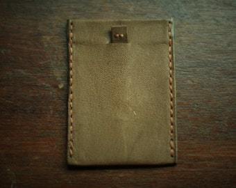 Kangaroo Leather Wallet - Slim - the pull out
