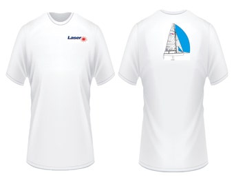 Laser Sailboat T-Shirt