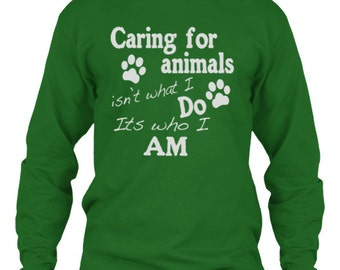 Caring For Animals Long Sleeve