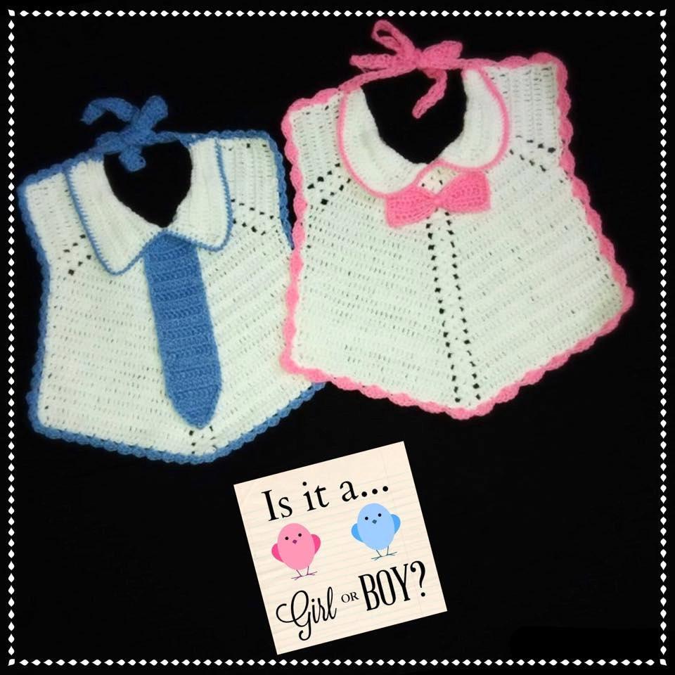 Filet Crochet Baby Bib Patterns : Crochet Baby Bib Pattern