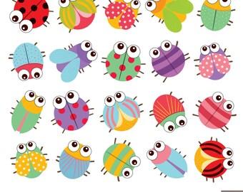 Little Bugs Clipart