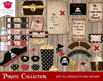 Instant Download Pirate Party Collection
