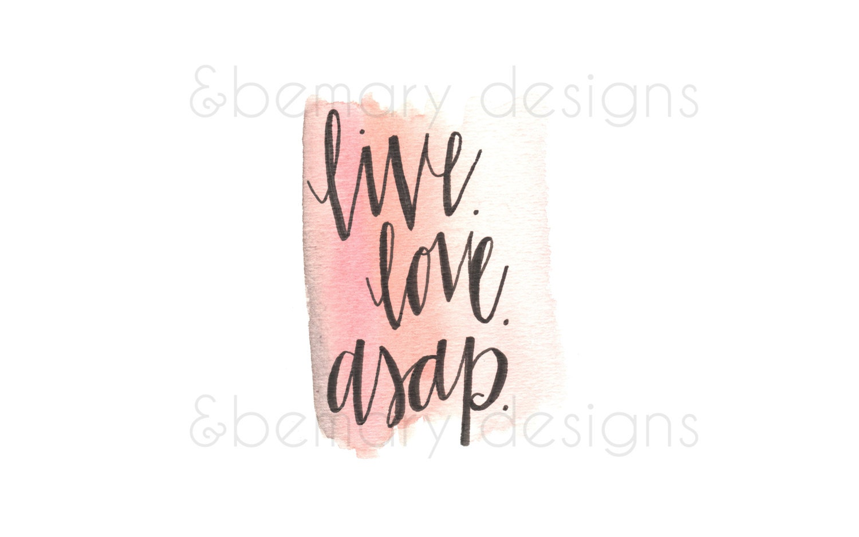 live love asap iphone wallpaper