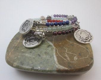 Chakra Charm Bracelet