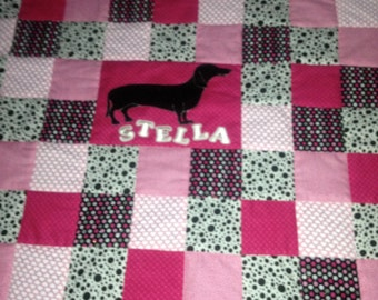 Diva dog quilt or bed