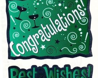 Sandylion Congratulations Stickers