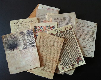 Old documents old Documents the Hobbit etc 1/6 handwriting Diorama Accessories