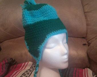 2 Color Ear Flap Hat