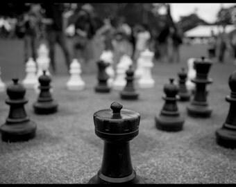 Lawn chess, Ashfield park, Sydney, Australia