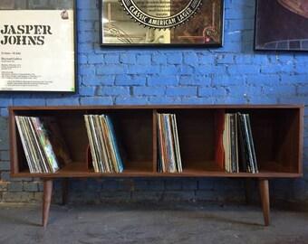 Modern Record Cabinet Credenza