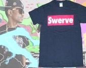 Swerve Big Sean Hip Hop Mens Streetwear Mens Custom Graphic Design T Shirts Matches Jordan KD7 Lebron Sneakers