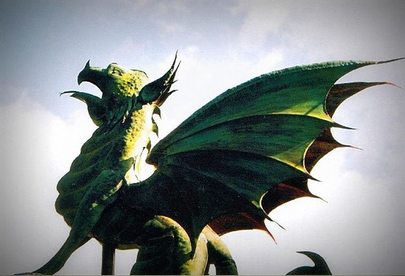 Dragon Weathervane Custom Copper Weathervane For Home Or