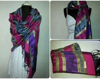 Cashmere scarves hand selected from Thailand