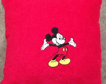 Mickey Mouse Terry towelling cushion