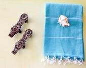 Turkish Organic Cotton Towel Peshtemal, Turkish Bath Towel, Hand Loomed Peshtemal, Spa Towel, High Quality Peshtemal , Soft Beach Towel