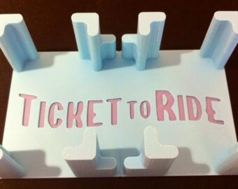 Ticket to Ride Card Holder Board Game
