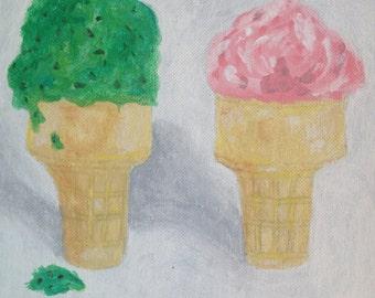 The ice creams