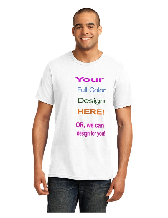 Full color custom t shirts by inkongraphicstshirts on etsy for Custom full color t shirts