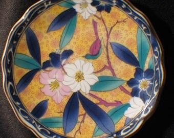 Floral Japanese Dish