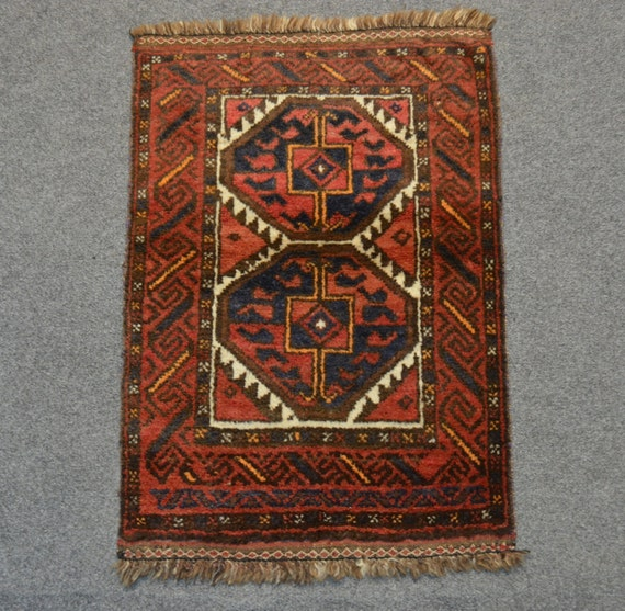 Antique Afghan Rugs: Vintage Afghan Baluchi Rug By Legacyrugs On Etsy