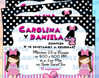 Minnie Birthday Invitation 5