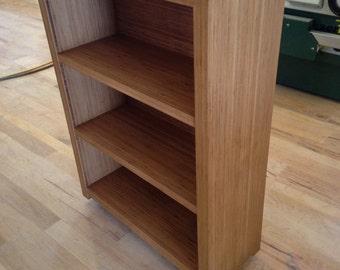 Bamboo bookcase